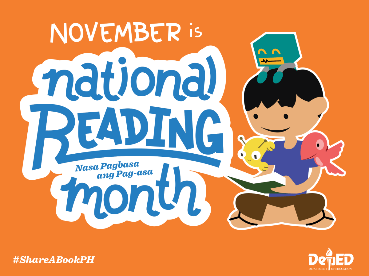 BUWAN NG PAGBASA – National Reading Month 2017 official theme